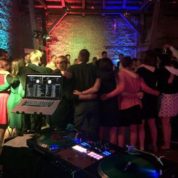 DJ CrossCut bei einer Hochzeit