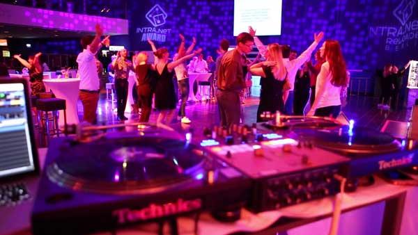 Tanzfläche beim Event