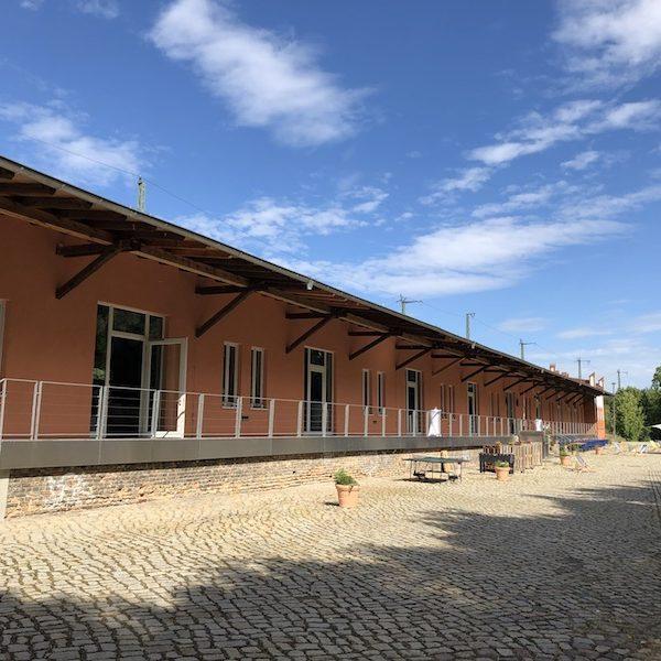 BlauArt Tagungshaus Potsdam Außenansicht