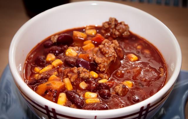 chili con carne 378952 640 - Der Mitternachtssnack für die Hochzeit: Anregungen und Tipps