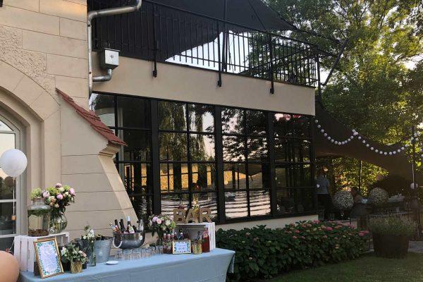 Remise am See Caputh Hochzeits DJ 600x400 - Sophie und Dario feiern bei 34 Grad (Remise am See in Caputh)