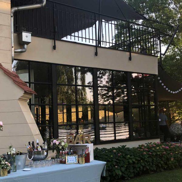 Remise am See Caputh Hochzeits DJ 600x600 - Sophie und Dario feiern bei 34 Grad (Remise am See in Caputh)