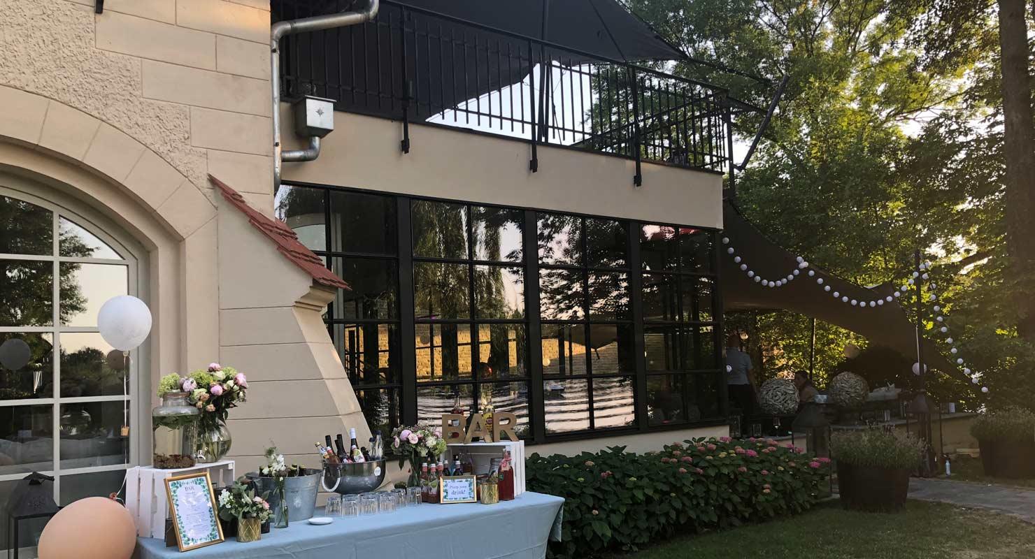 Remise am See Caputh Hochzeits DJ - Sophie und Dario feiern bei 34 Grad (Remise am See in Caputh)